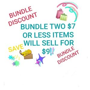 BUNDLE BOGO or BUNDLE DISCOUNT MEANS:
